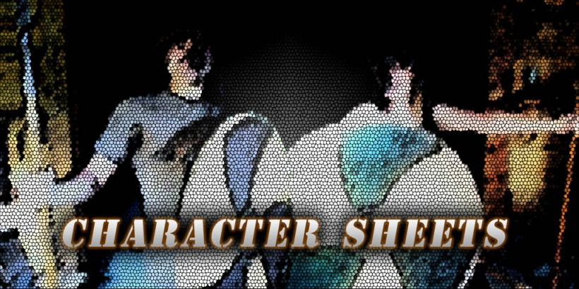 One Hour Character Sheets