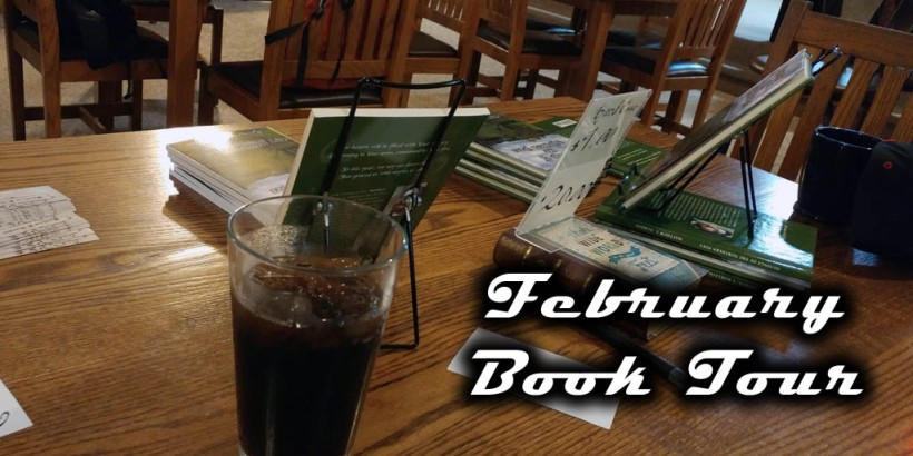 February Book Tour